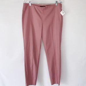 Crosby Blush Pink Pants with Elastic Waist
